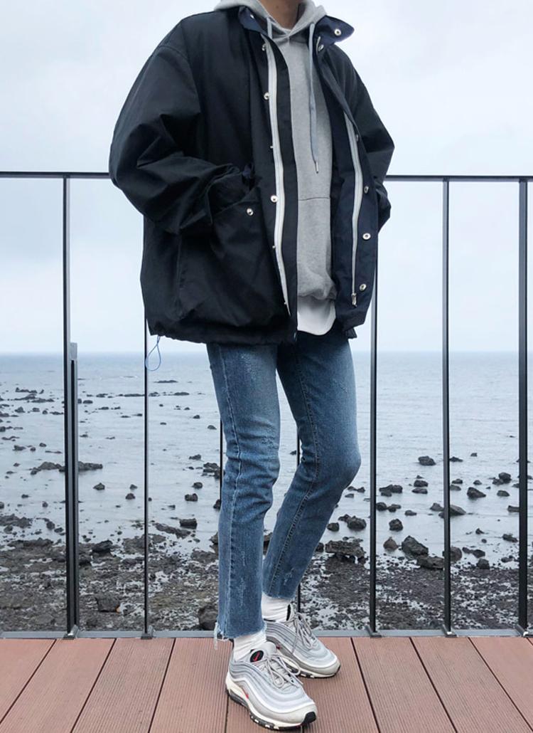 オーバーフィットジャケット
