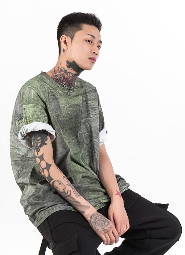 リンクルライクTシャツ