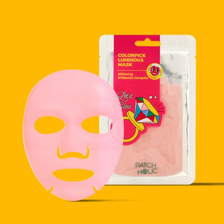 [パッチホリック]カラーパックルミナスマスク(1枚入り)