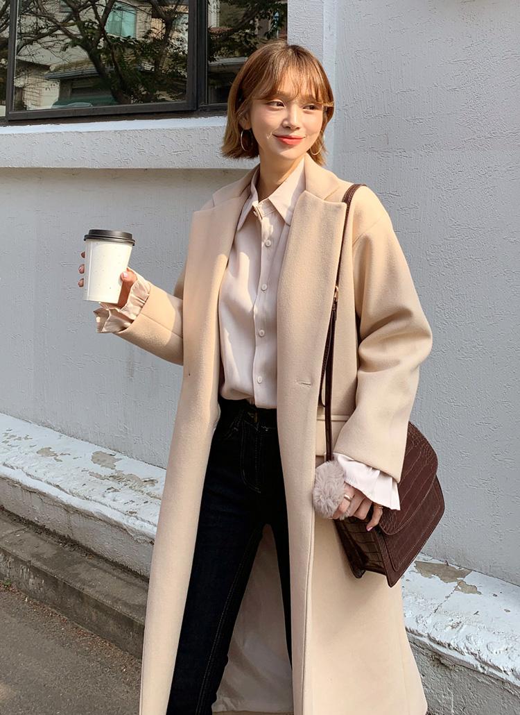 ルーズシングルコート・全5色