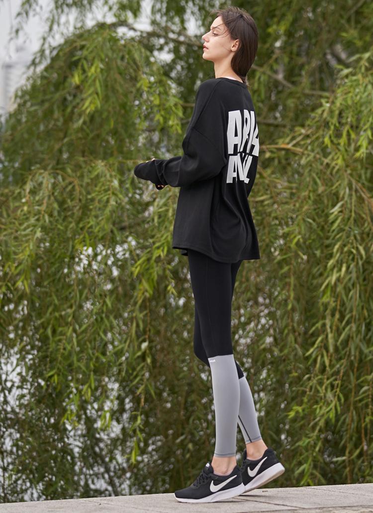 ANGELロングスリーブTシャツ(ブラック)