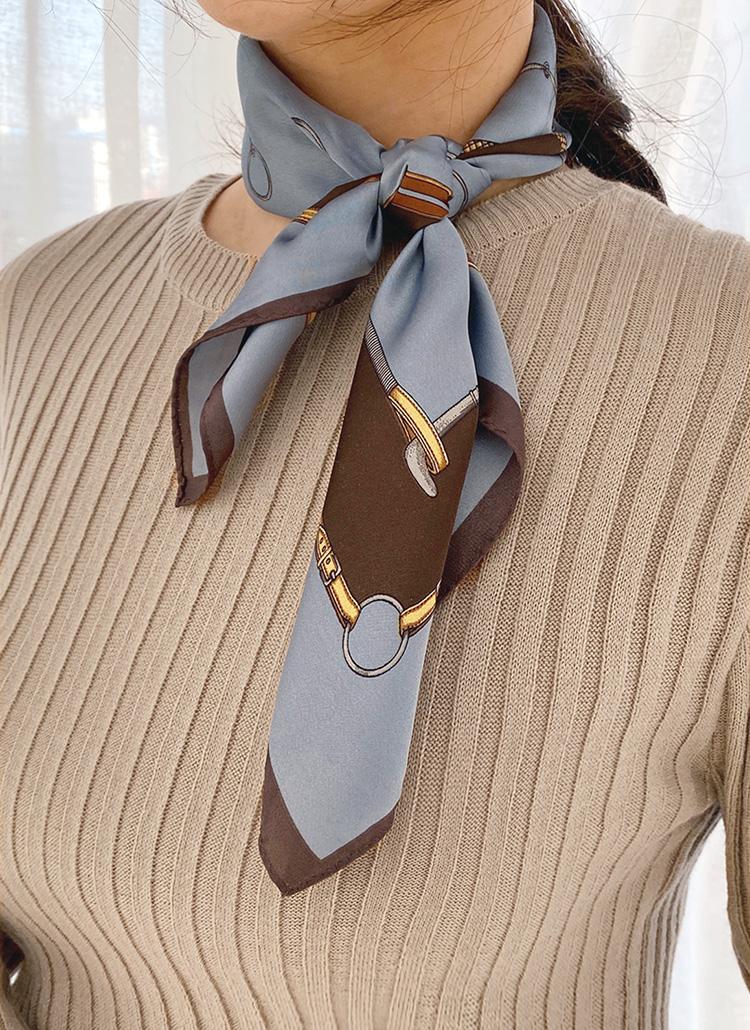 ビットパターンスカーフ・全5色