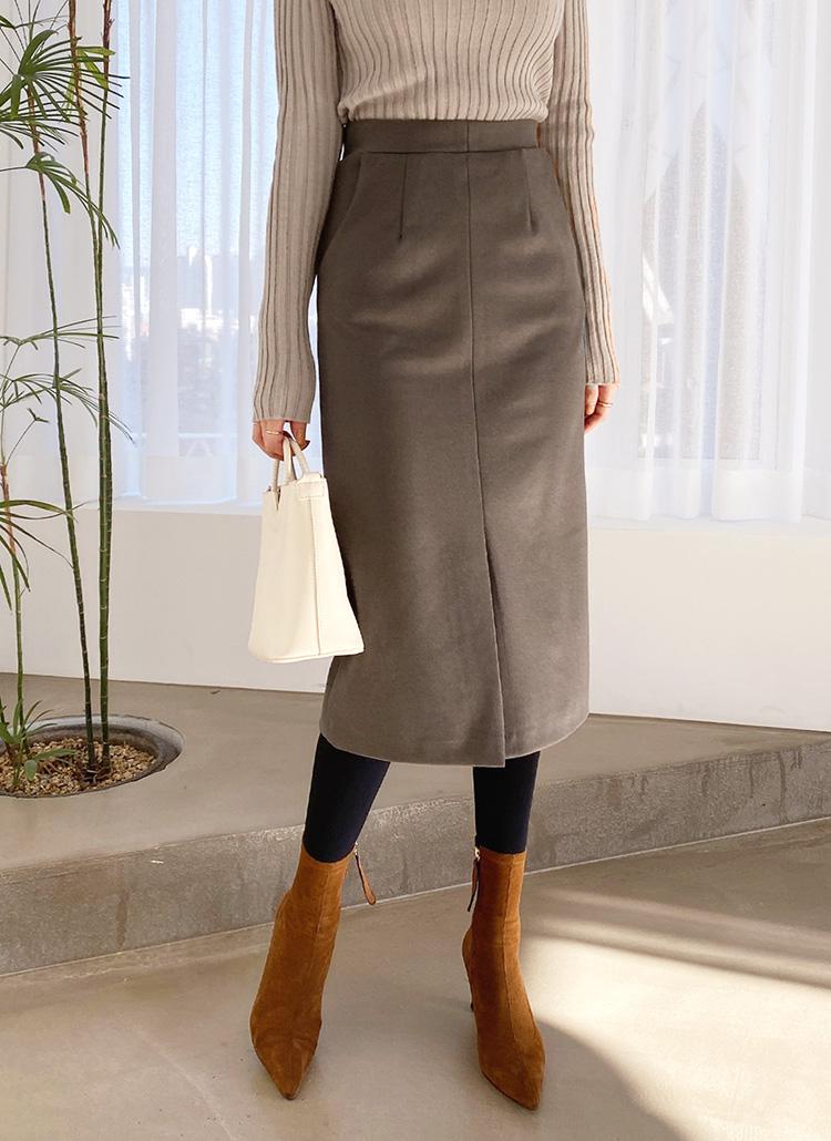 イージースリットスカート・全2色