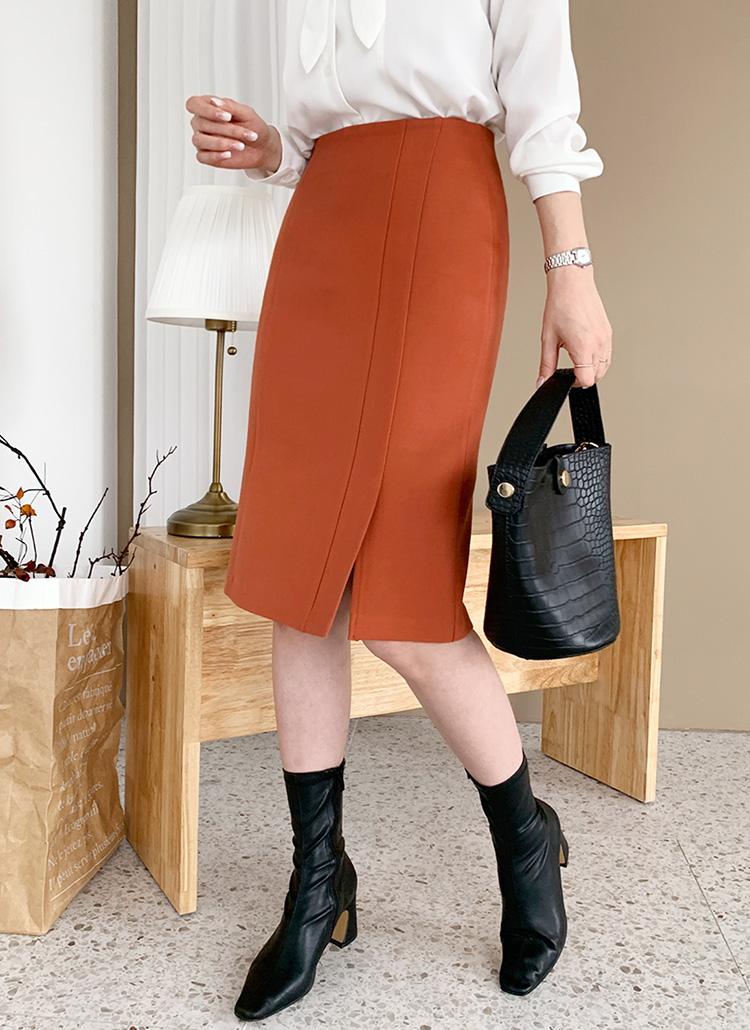 ダブルスリットスカート・全3色