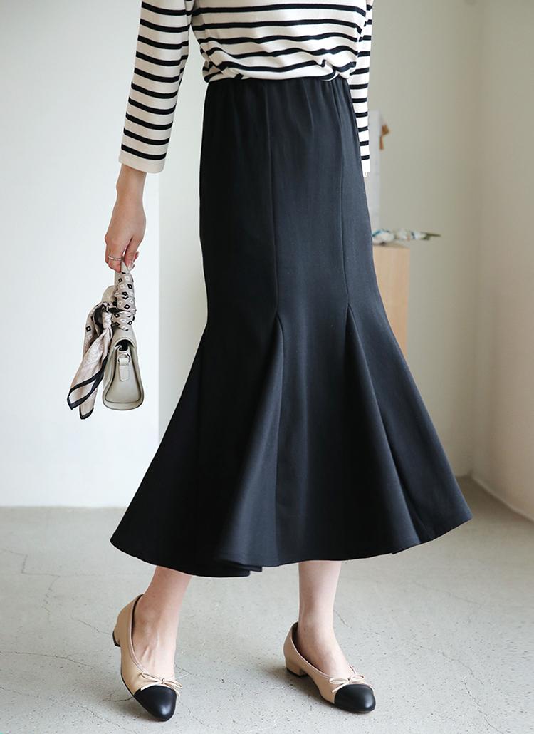 イージーマーメイドスカート・全3色