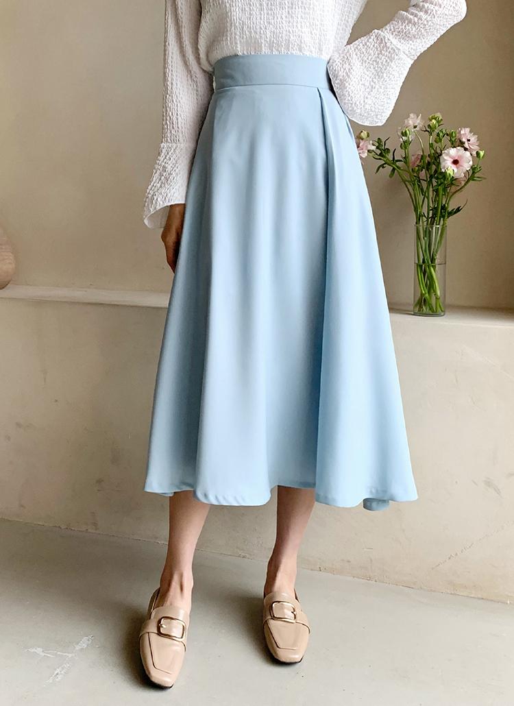 タックフレアスカート・全3色