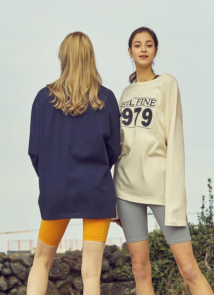 1979ロゴルーズTシャツ(アイボリー)