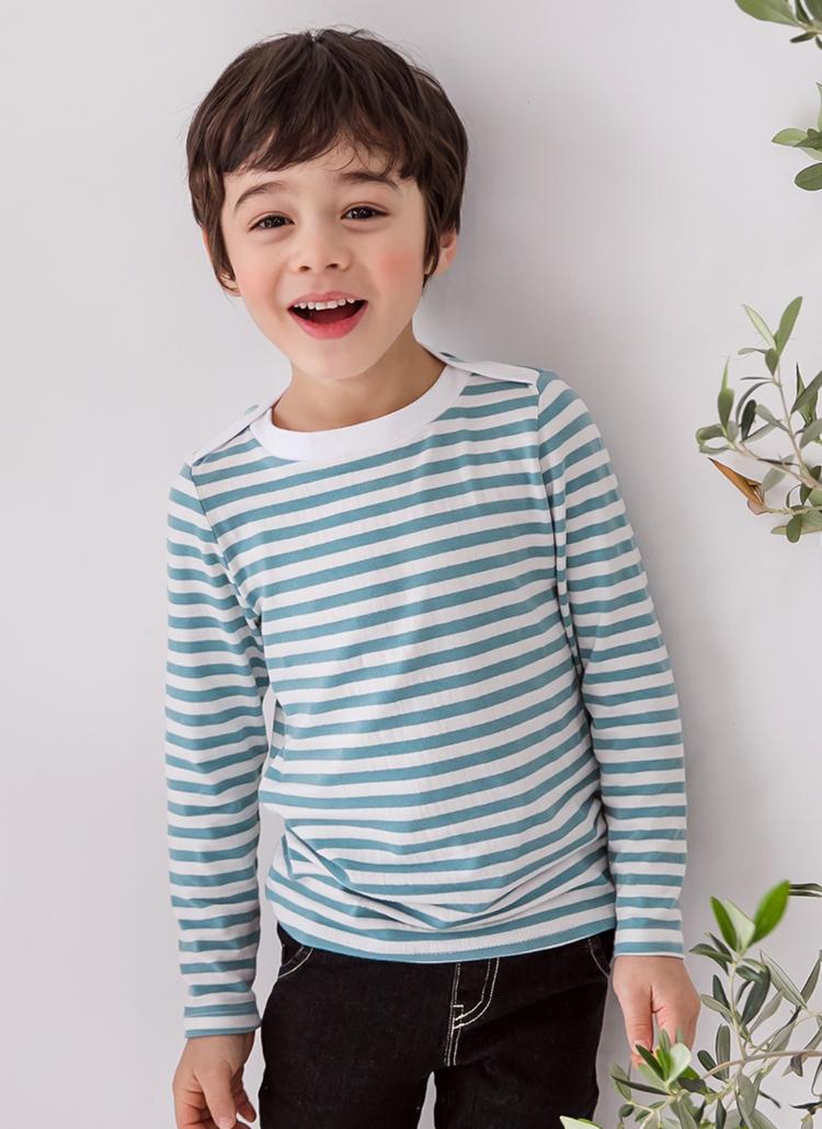 ショルダーラインボーダーTシャツ(junior)