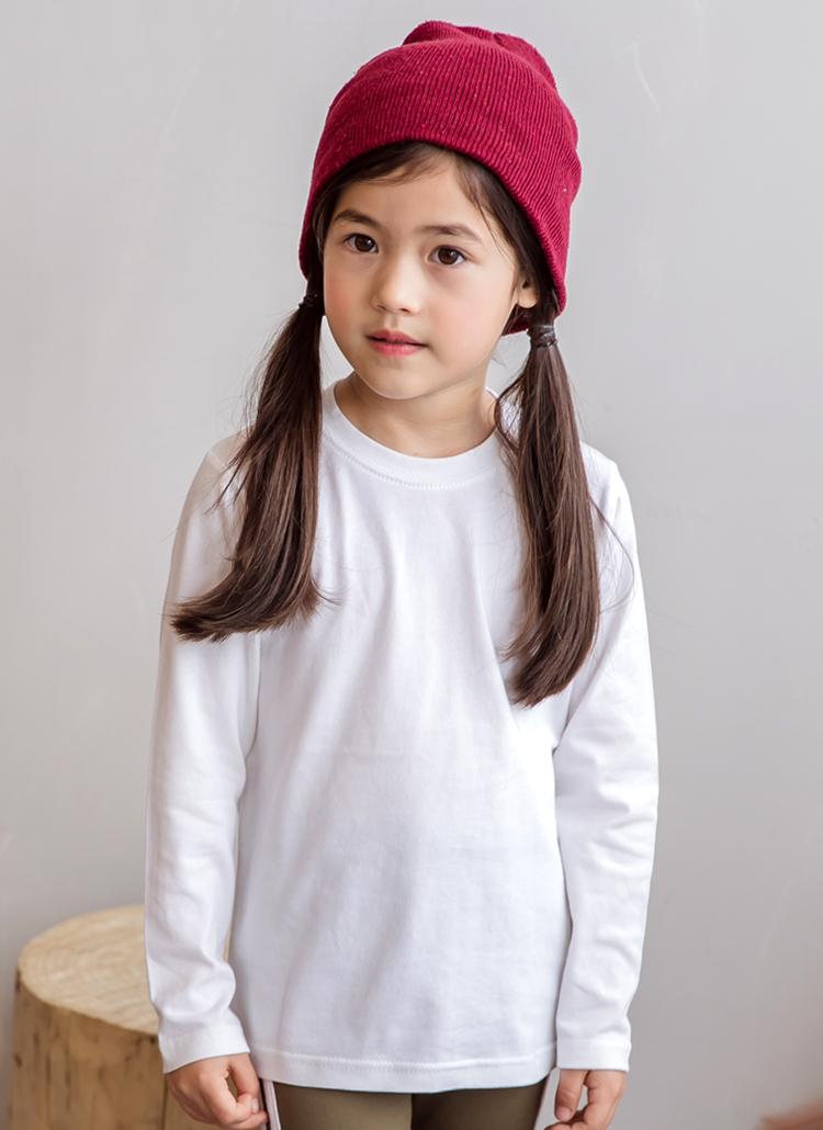 長袖ラウンドネックTシャツ(junior)