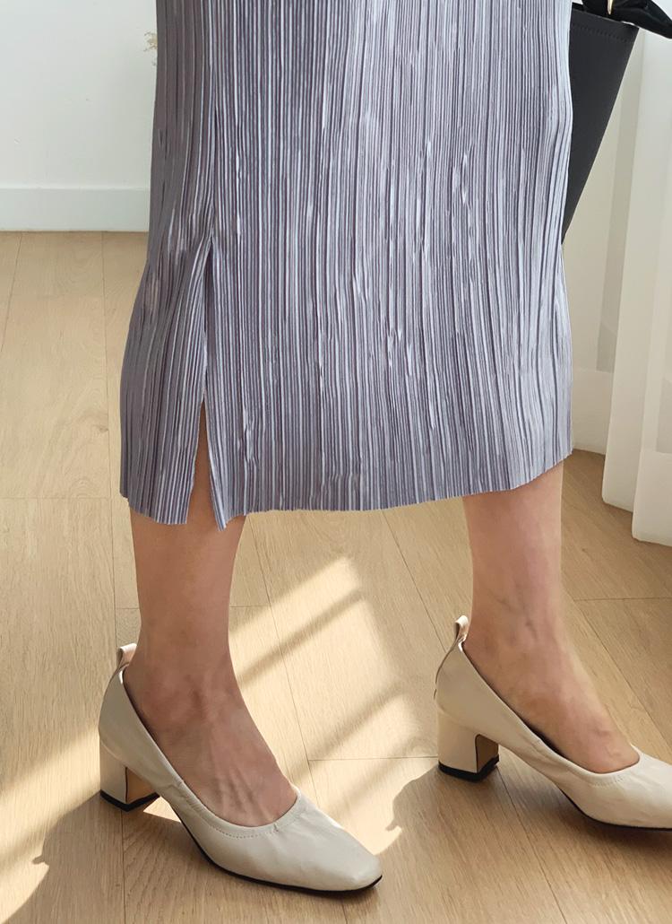 ストレッチプリーツスカート・全3色