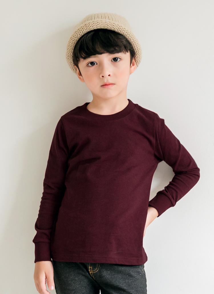 メランジラウンドネックTシャツ