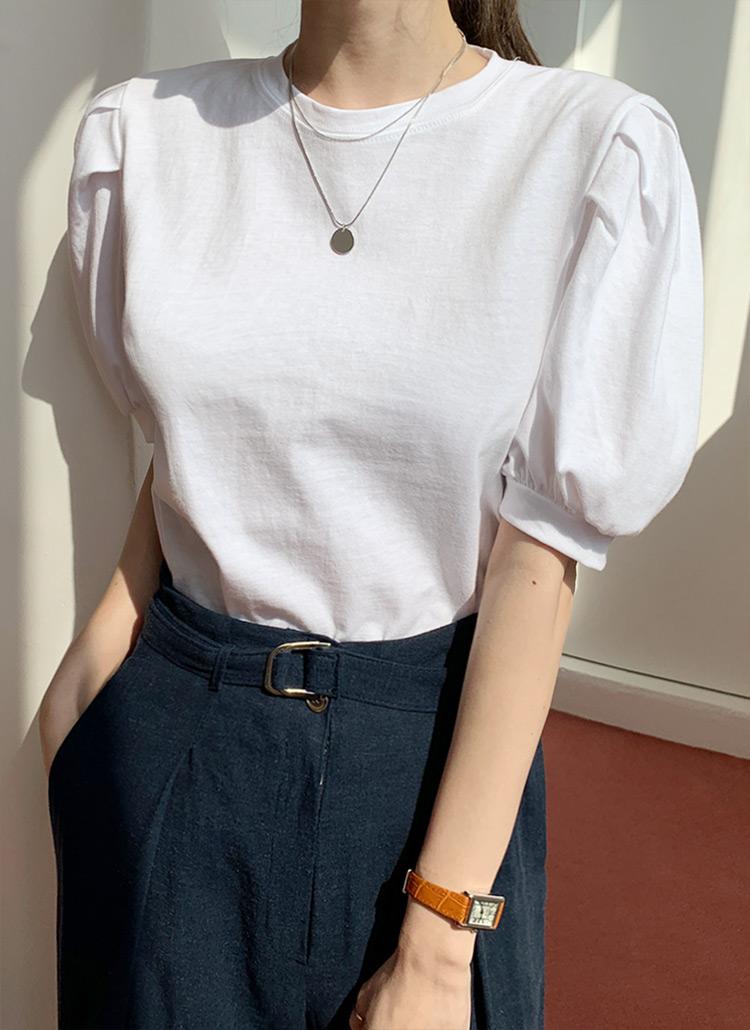 パフスリーブTシャツ・全4色