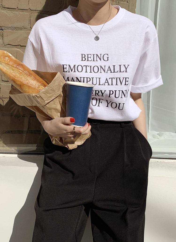 BEINGショートスリーブTシャツ