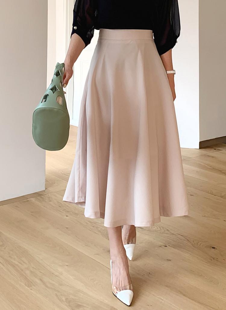 フレアスカート・全3色