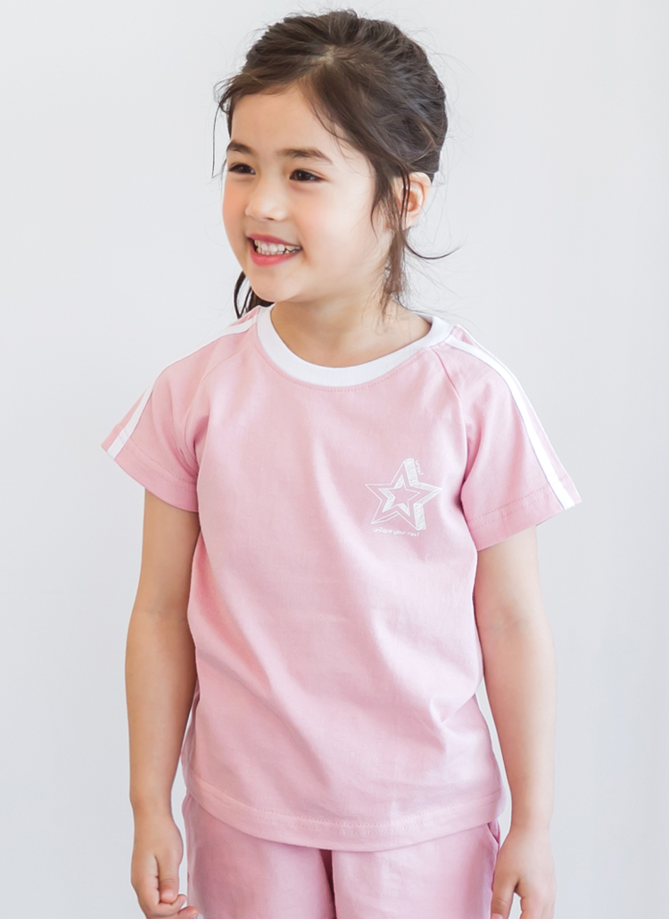 スタープリントTシャツ(ジュニア)