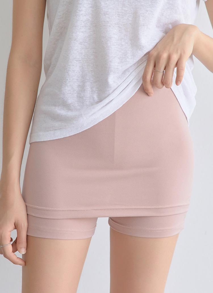 アンダースカートパンツ