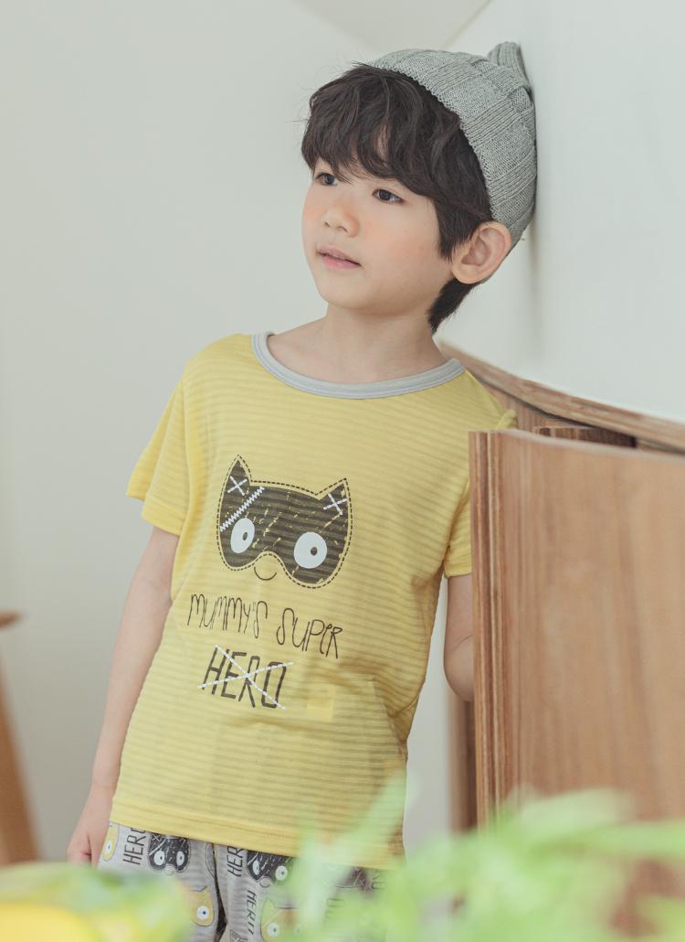 My heroパジャマSET(イエロー)