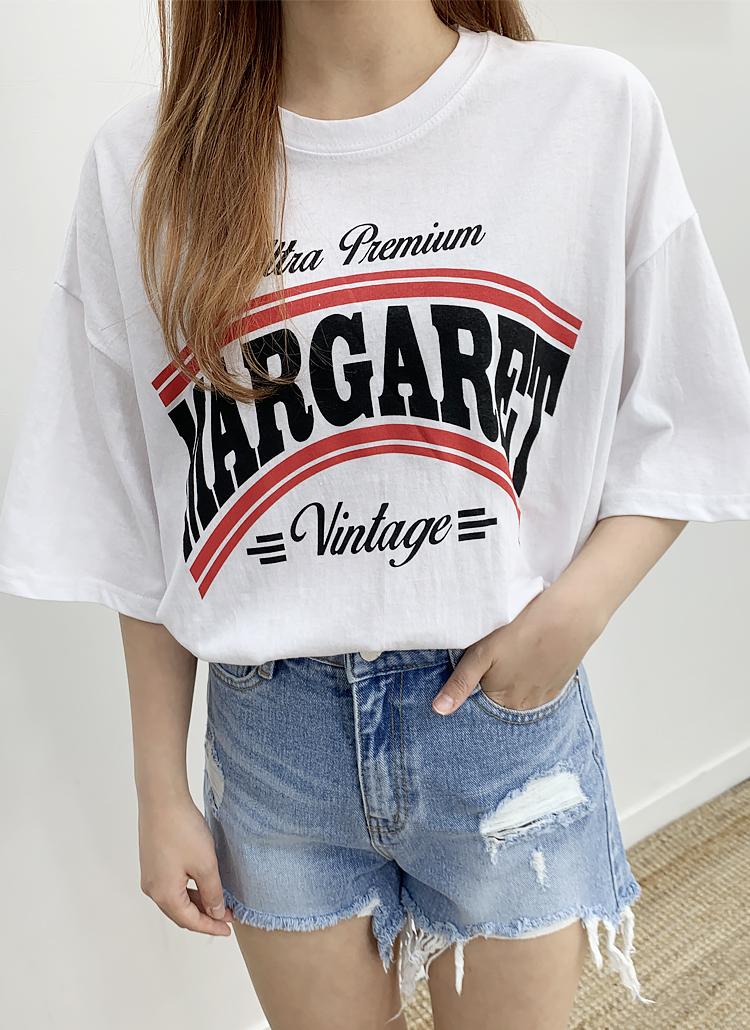 MargaretロゴTシャツ