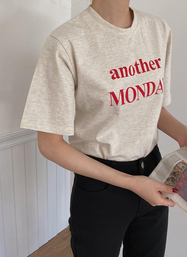 anotherコットン半袖Tシャツ