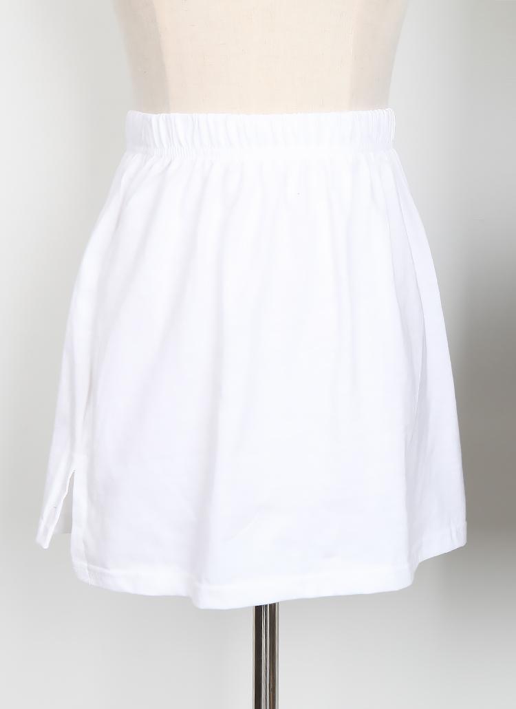 スリットレイヤードスカート