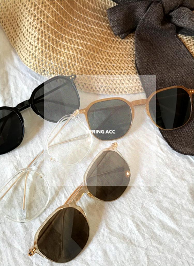 UV400メタルポイントサングラス・全4色