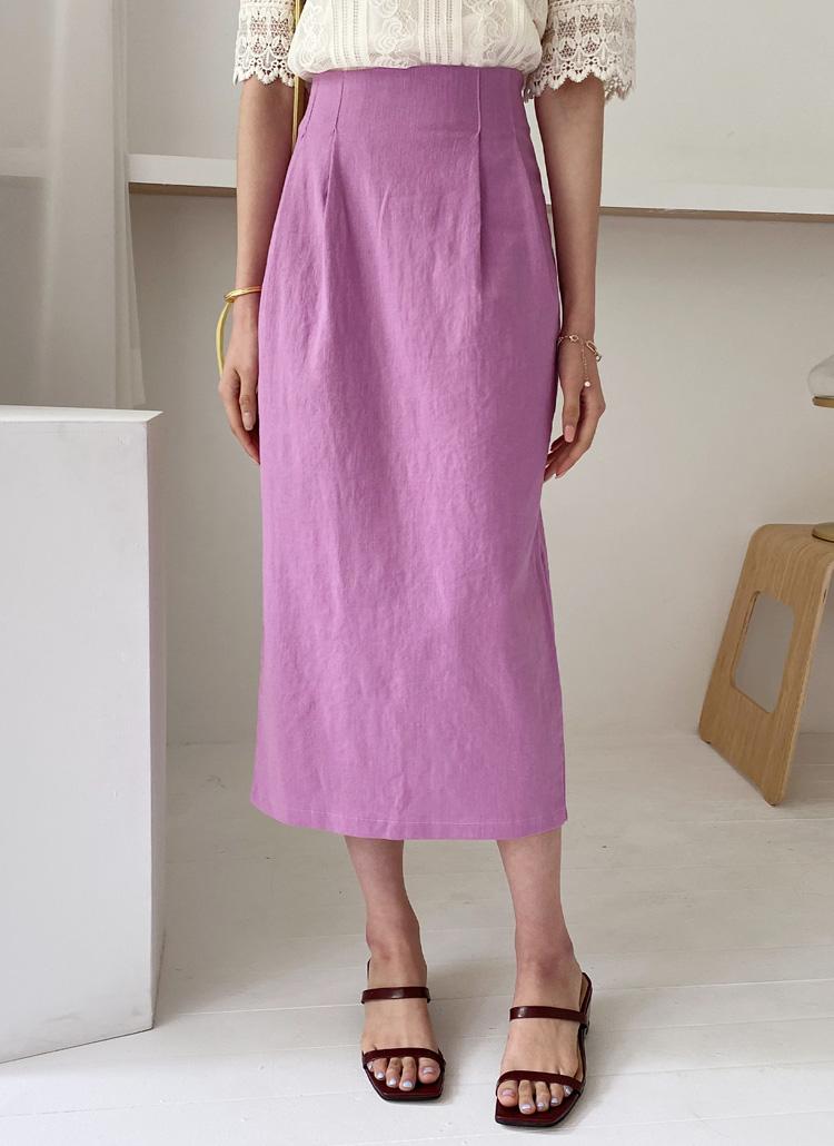 タックHラインスカート・全3色