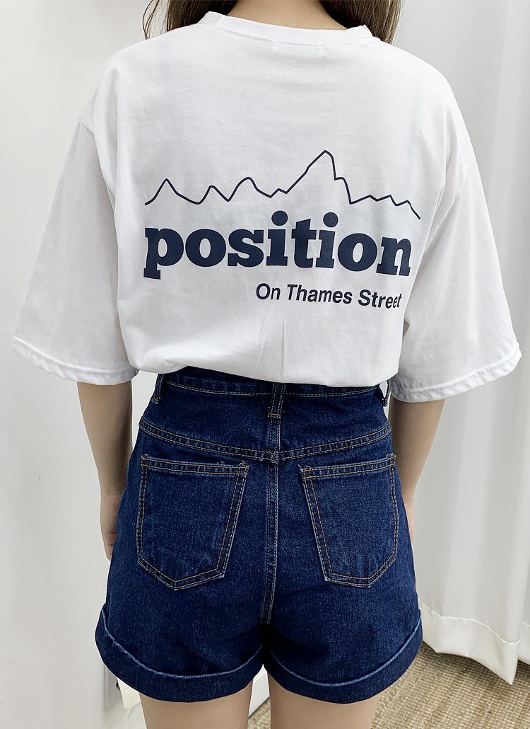 PositionロゴTシャツ