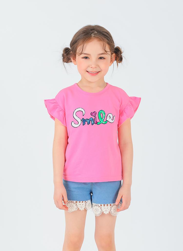 smileフリルTシャツ