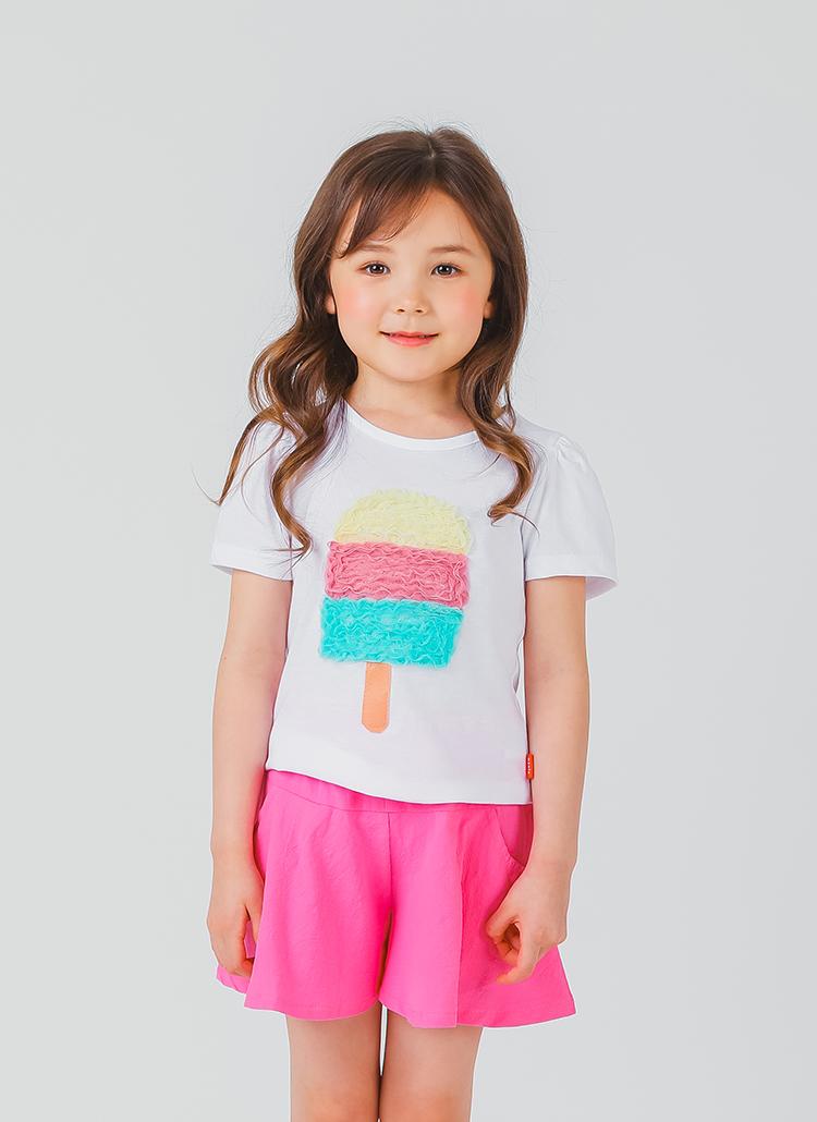カラフルアイス半袖Tシャツ