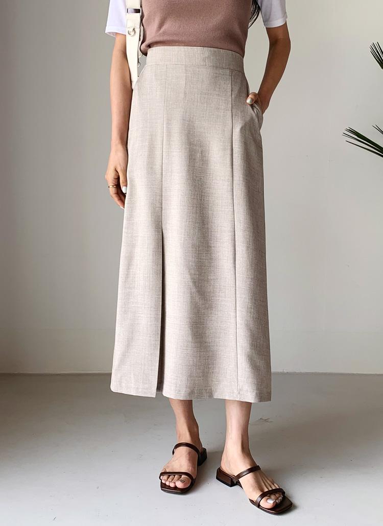 タックHラインスカート・全4色