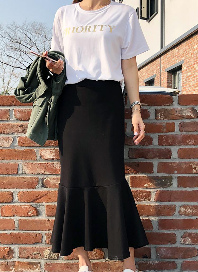 4COLORSマーメイドスカート