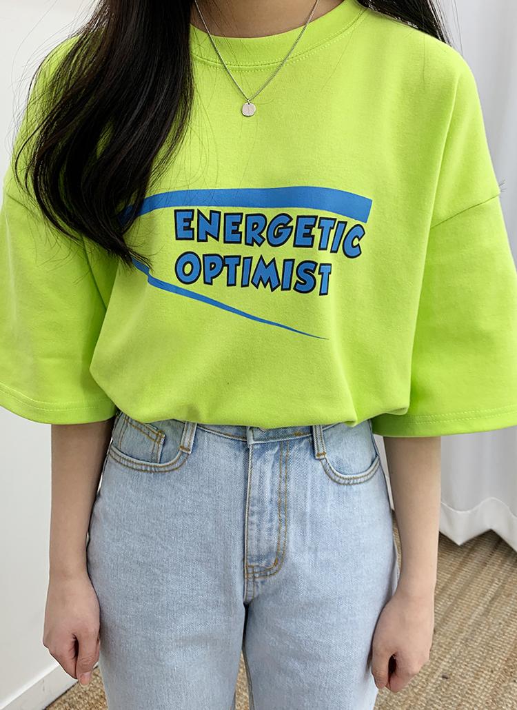 エナジェティック半袖Tシャツ