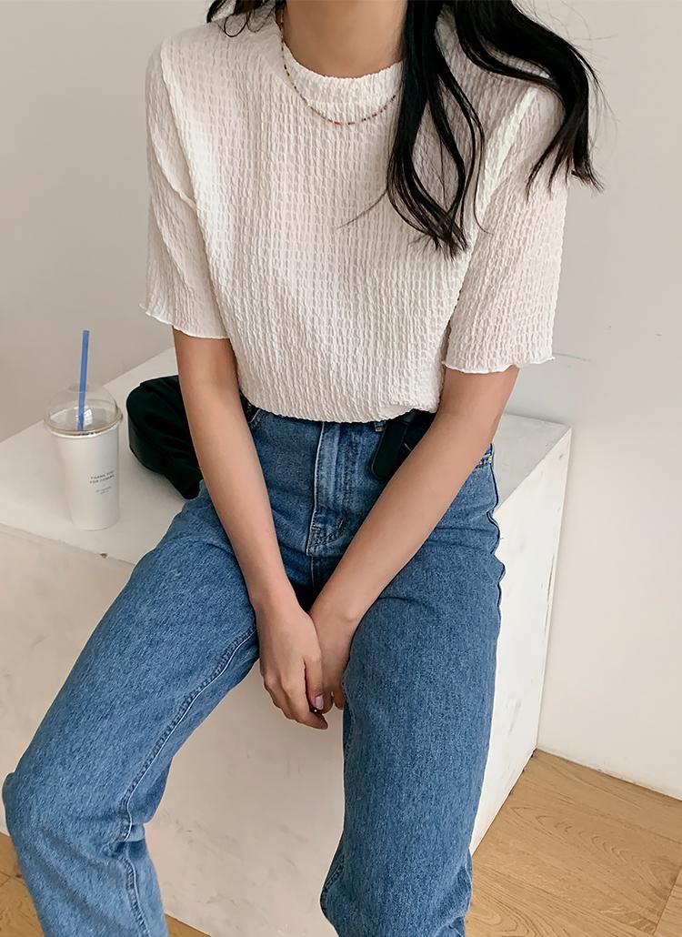 リンクルTシャツ