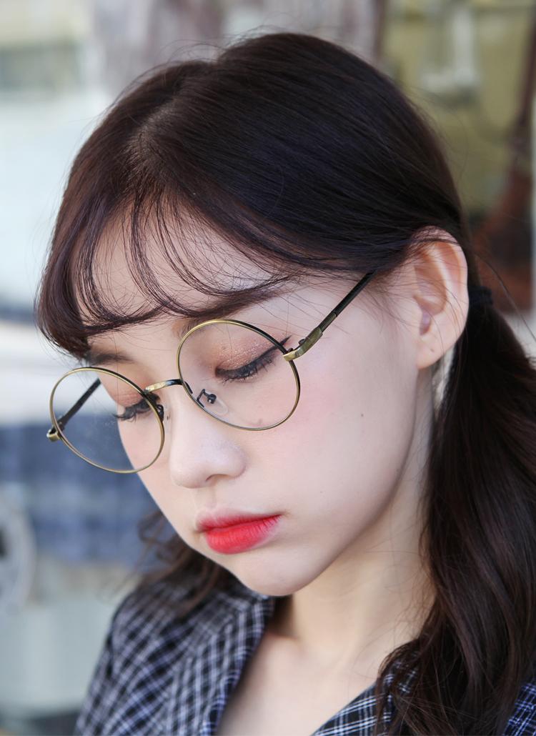 ラウンドフレーム眼鏡
