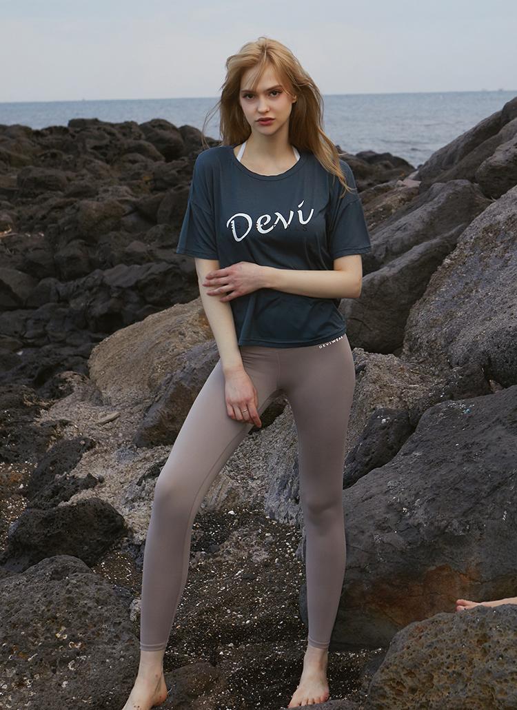 Devi半袖Tシャツ(アッシュグレー)