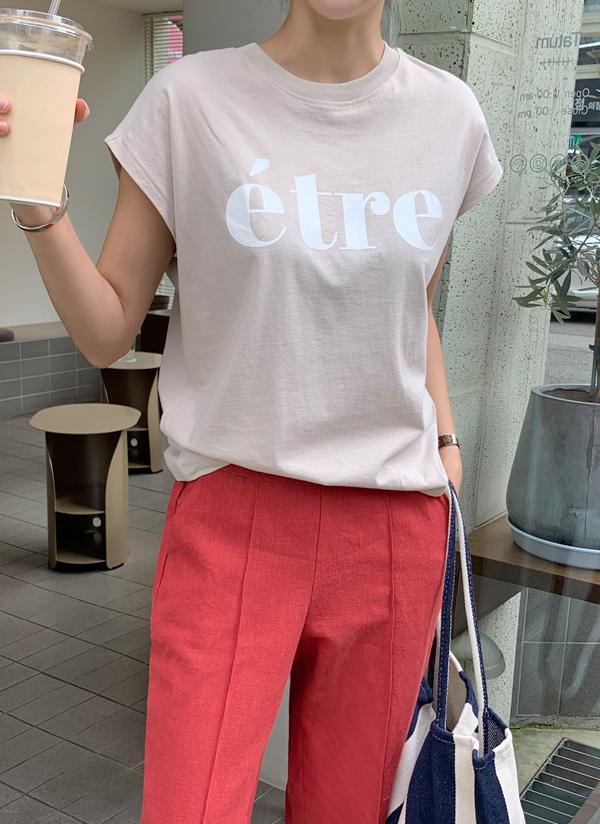 EtreプリントTシャツ