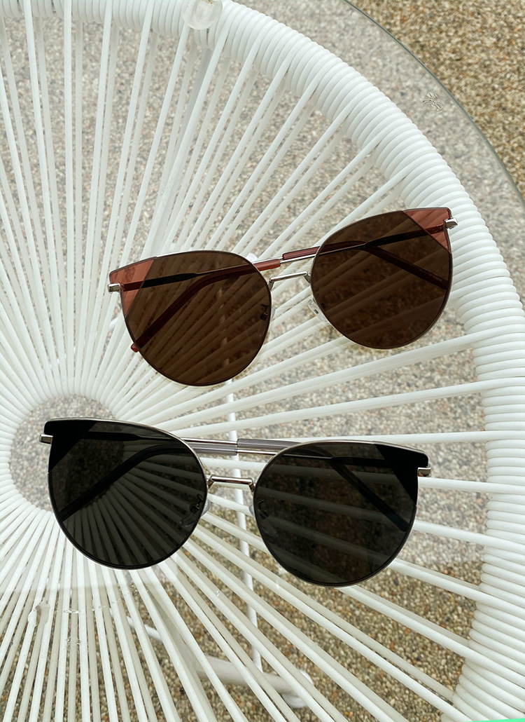 UV400エッジサングラス・全2色