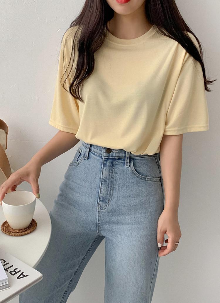 ルーズフィット半袖Tシャツ