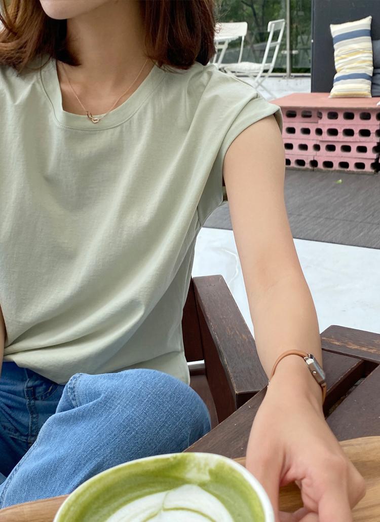 ロールスリーブソフトタッチTシャツ