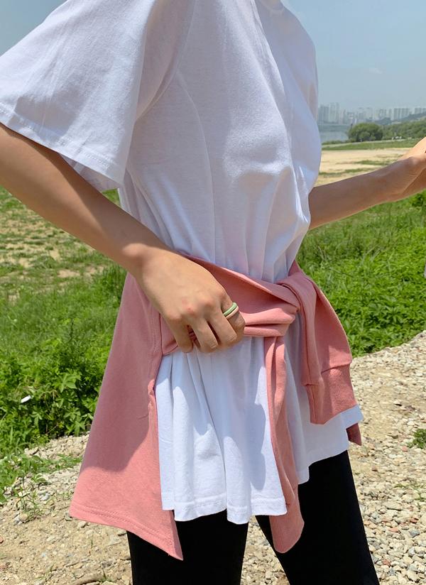 Tシャツ風ヒップカバー