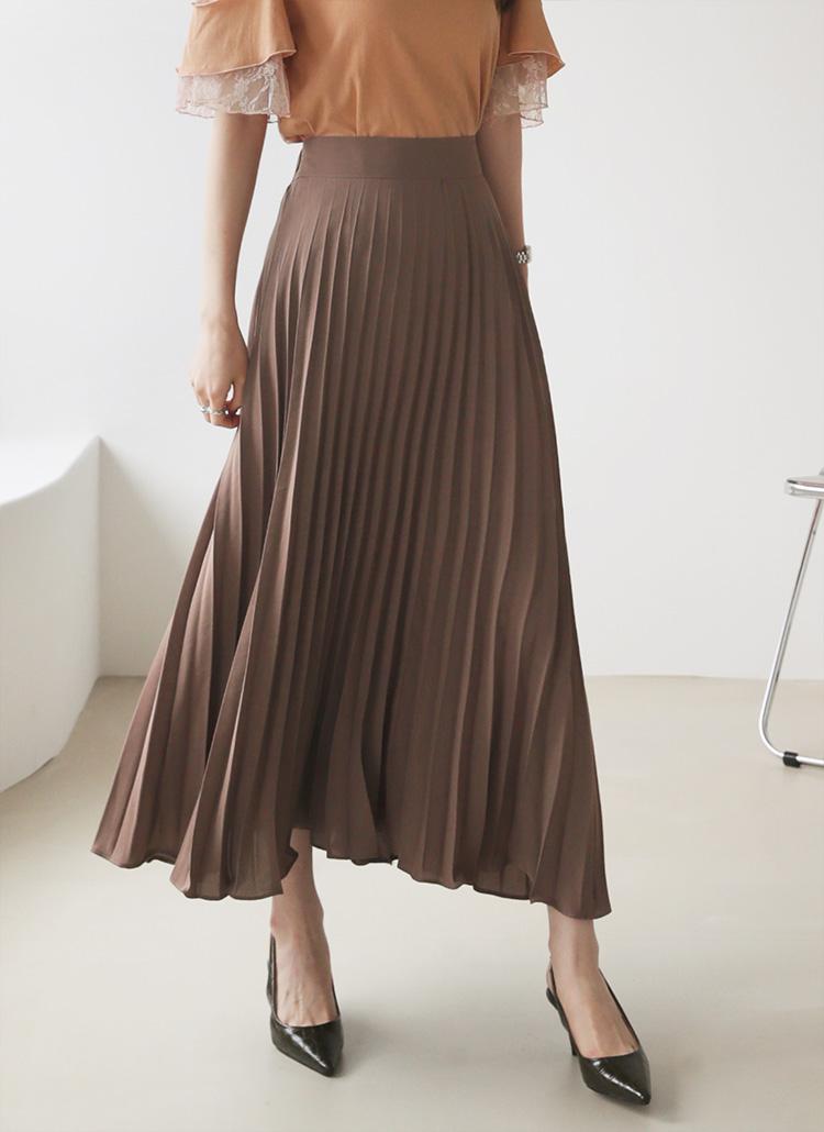 プリーツスカート・全3色