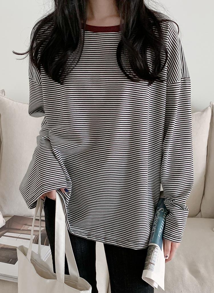 ロングスリーブボーダーTシャツ