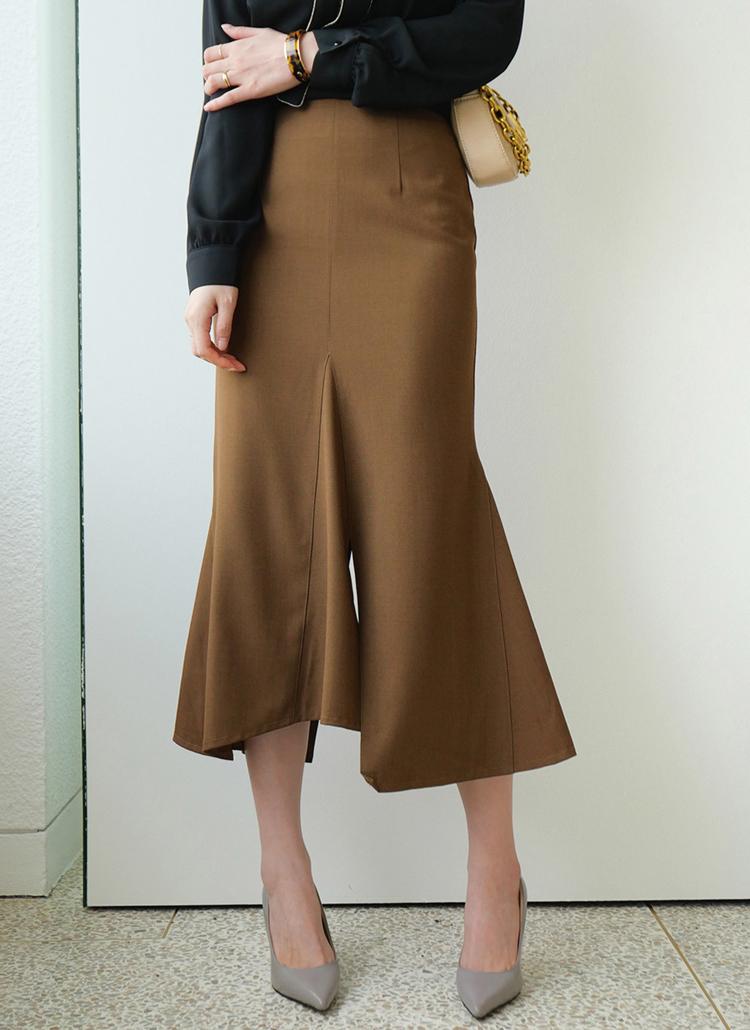 スリットマーメイドスカート・全4色