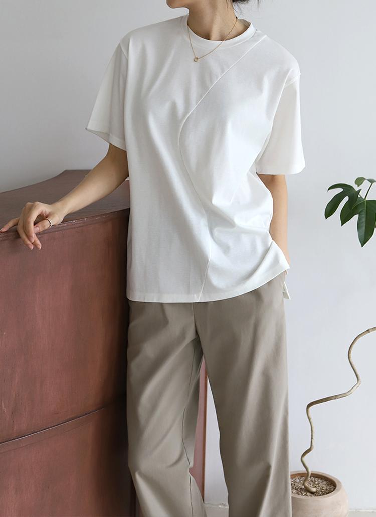 ウェーブラインTシャツ