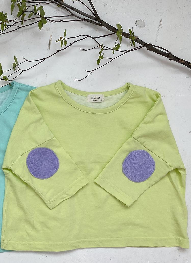 カラーパッチTシャツ