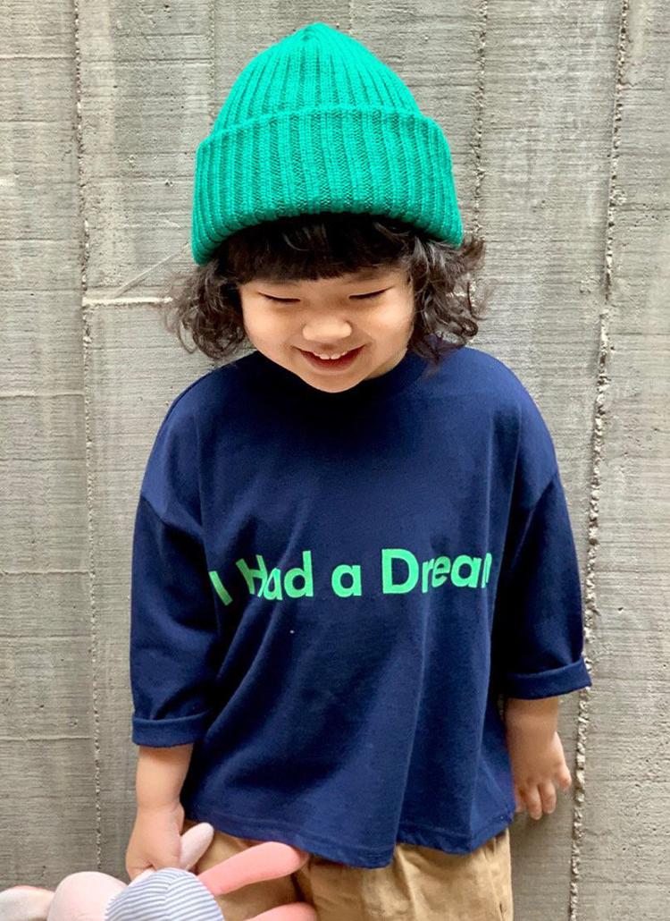 DREAMレタリングTシャツ