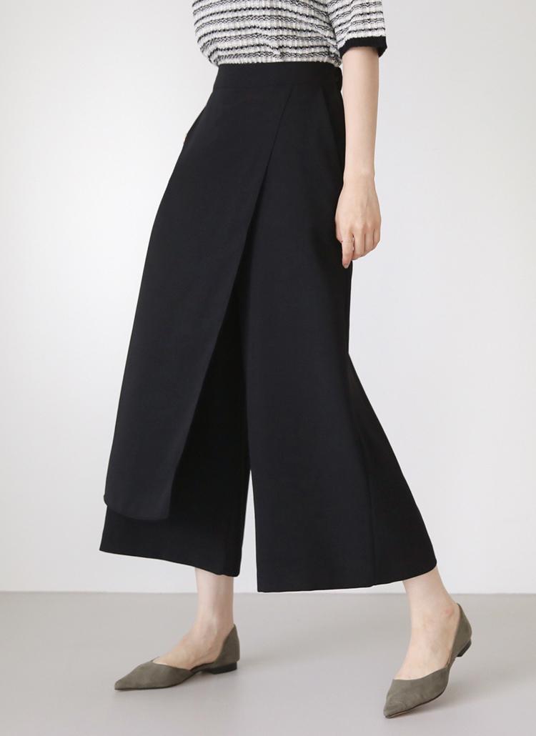 ワイドスカートパンツ・全3色
