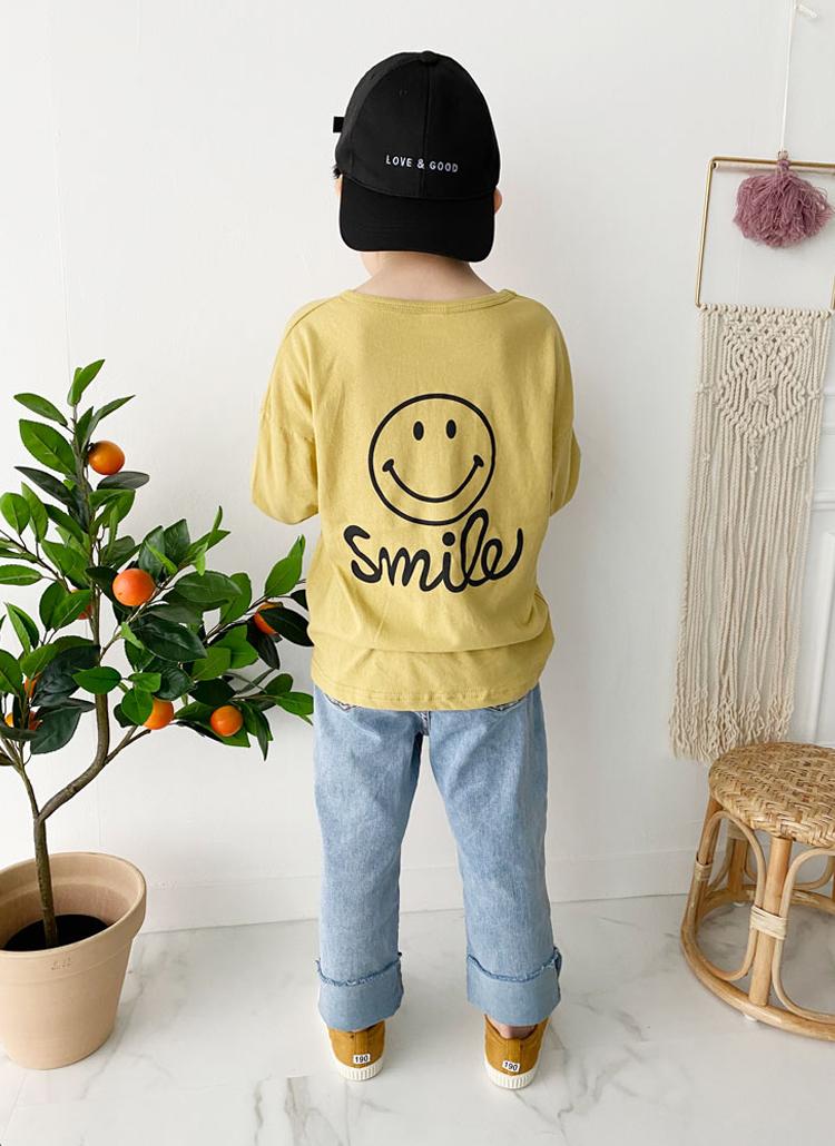 バックスマイルTシャツ