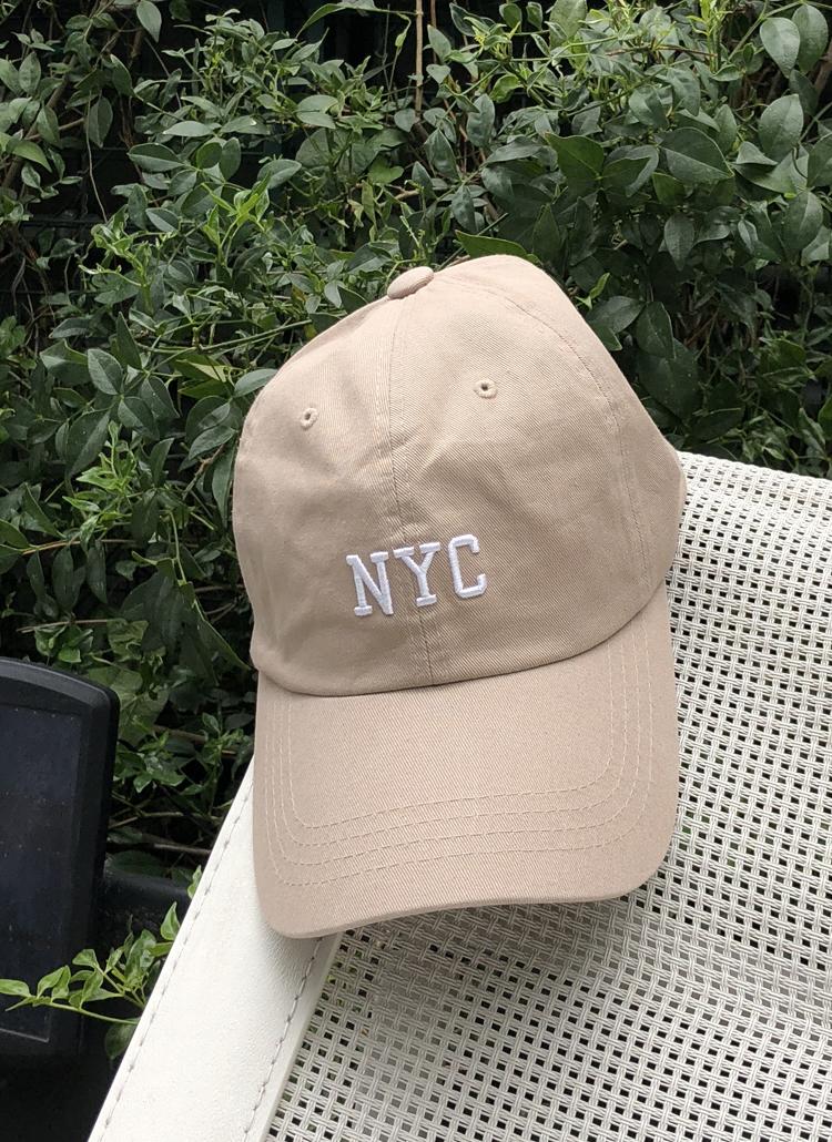 NYC刺繍キャップ