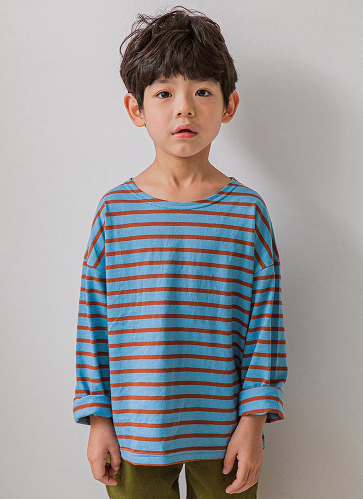 カラーボーダーTシャツ
